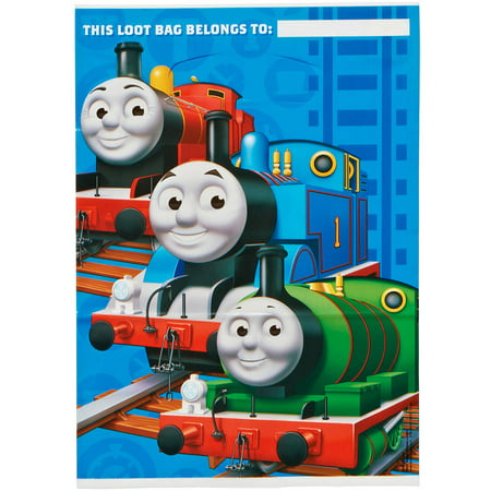 Thomas and Friends Treat Bags Party Supplies (8 Count)