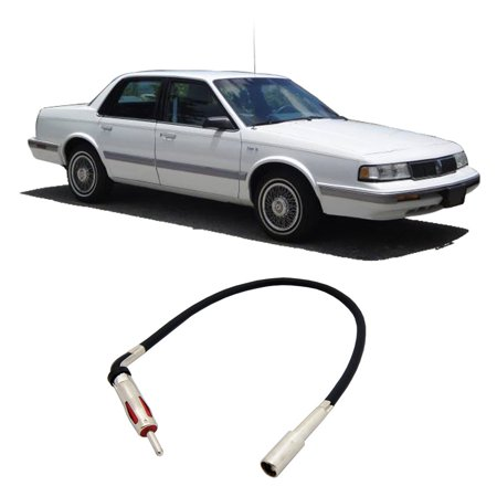 Oldsmobile Cutlass Exhaust Systems (Oldsmobile Cutlass Ciera 1988-1996 Factory Stereo to Aftermarket Radio Antenna)