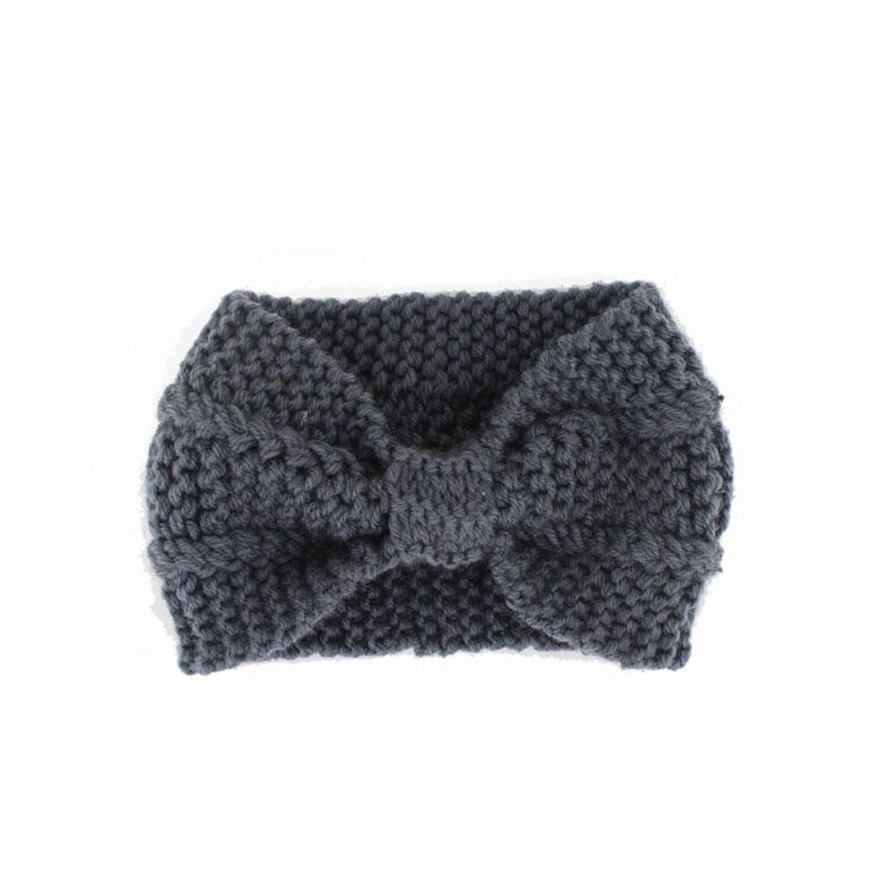 Women Girl Knitted Headband Crochet Head Wrap Ear Winter Warm Hair Wraps Soft