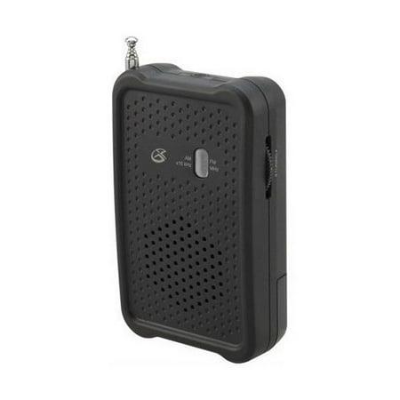 Handheld Radio Pouch - Brand New Gpx Portable Handheld Radio
