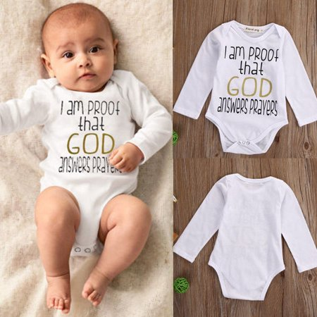 Newborn Kids Infant Baby Boys Girls Romper Jumpsuit Bodysuit Outfits Clothes