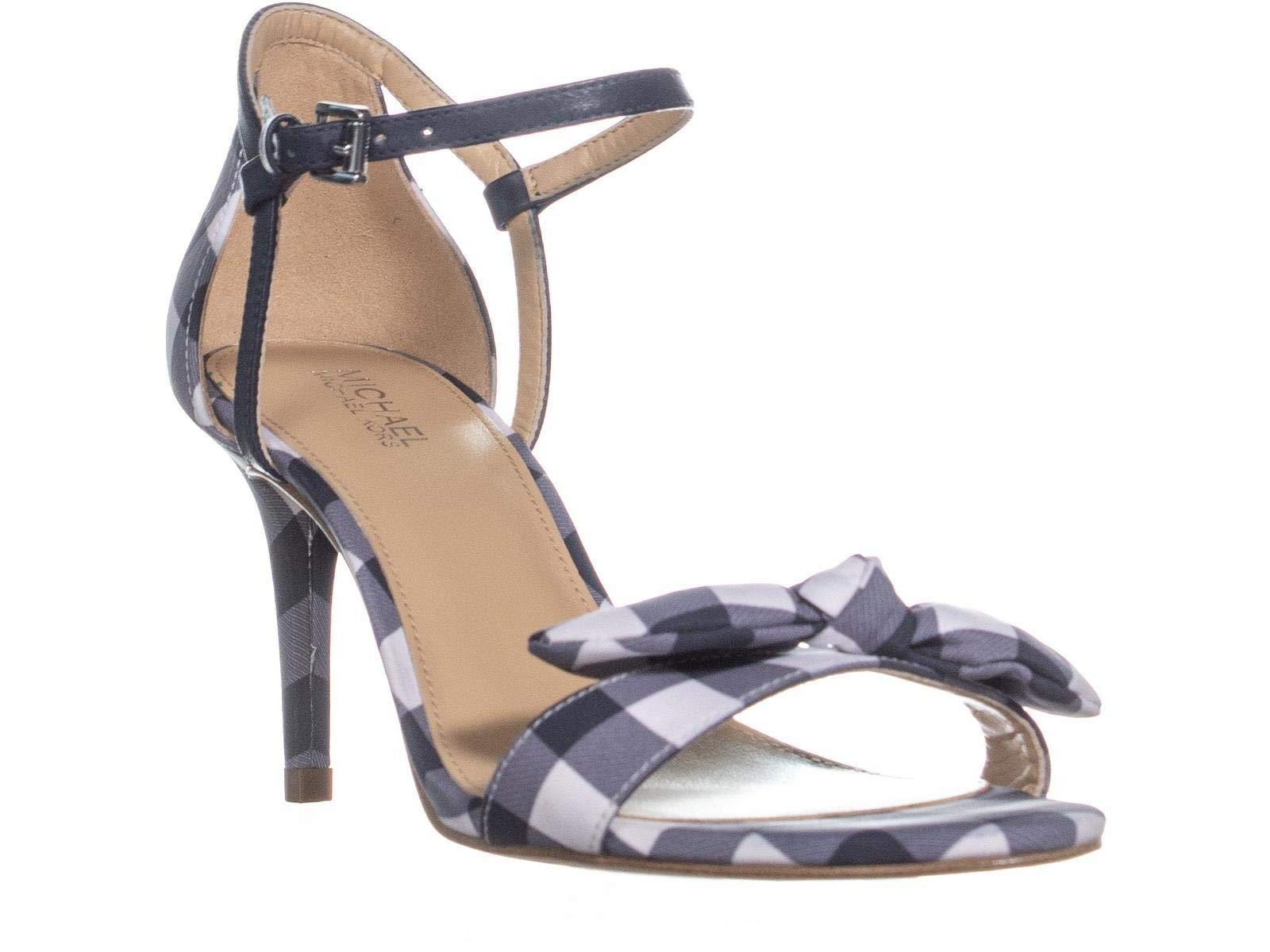 159484b70 Michael Michael Kors Womens Pippa Leather Open Toe Ankle