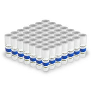 """String Wound Sediment Water Filter Cartridge Standard 2.5x10"""" 50 Micron 50 Pack"""