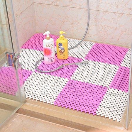 Girl12Queen Plastic Drain Holes Non-Slip Bathroom Toilet Kitchen ...