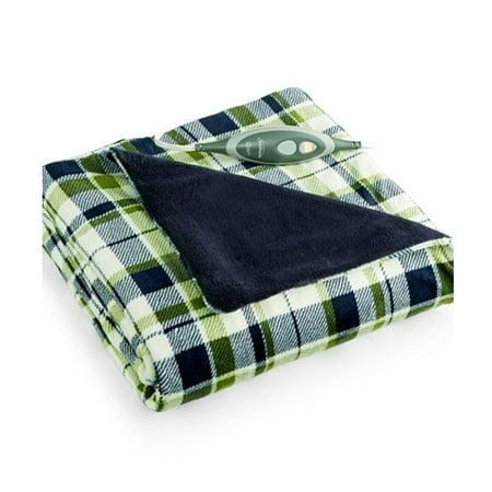 Electric Throw Blanket Walmart Simple Sunbeam SlumberRest Microplush Electric Heated Throw Blanket