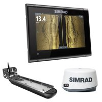 SIMRAD GO7 XSR COMBO WITH 3G RADAR BUNDLE AI 3 IN 1 T/M