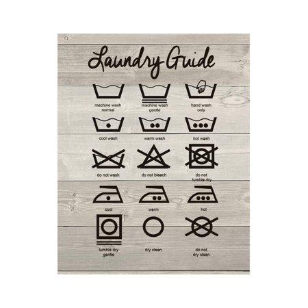 Laundry Guide Print Wall Art By Jo - Moulton Asian Print