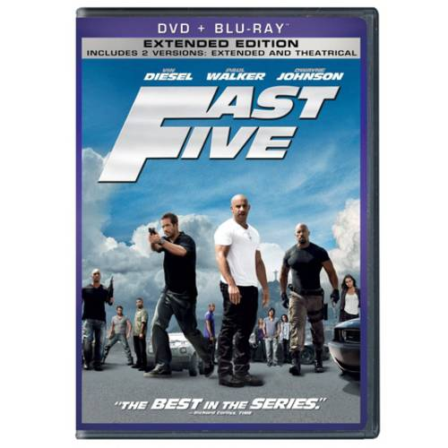 Fast Five (DVD + Blu-ray) (With INSTAWATCH) (Anamorphic Widescreen)