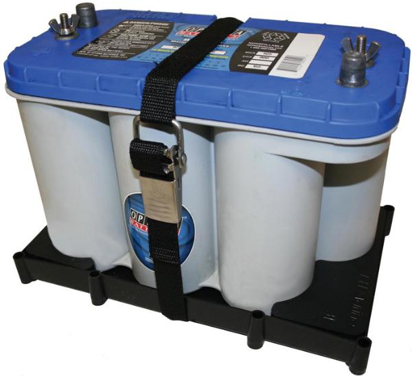 T-H Marine Battery Holder Tray For Optima Batteries D27M and D31M by T-H Marine Supplies