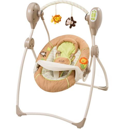 Summer Infant Sweet Sleep Musical Swing, Swingin' Safari