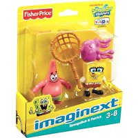 Spongebob Squarepants Imaginext SpongeBob & Patrick Mini Figure 2-Pack