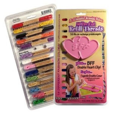 My Friendship Bracelet Maker Refill Threads With Replacement Clip