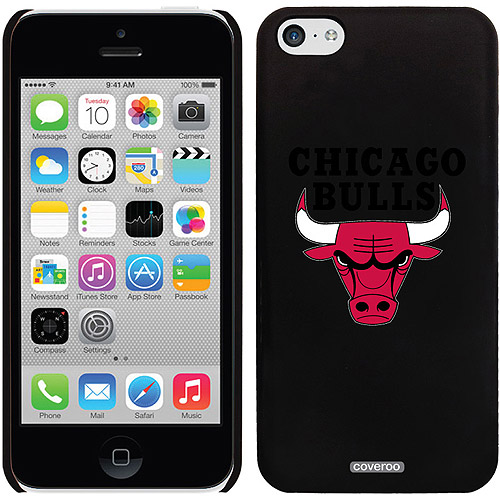Chicago Bulls Design on iPhone 5c Thinshield Snap-On Case by Coveroo