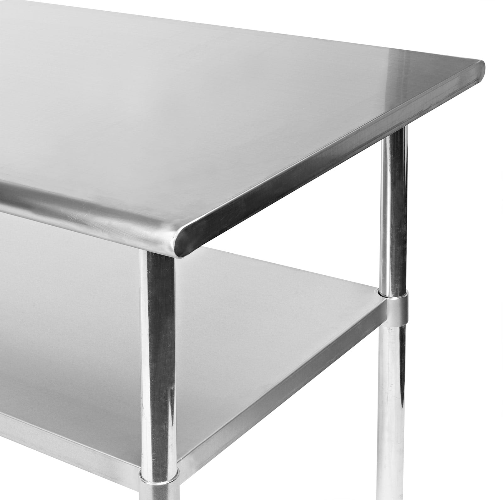 Gridmann NSF Stainless Steel Commercial Kitchen Prep  Work Table - Kitchen prep table stainless steel