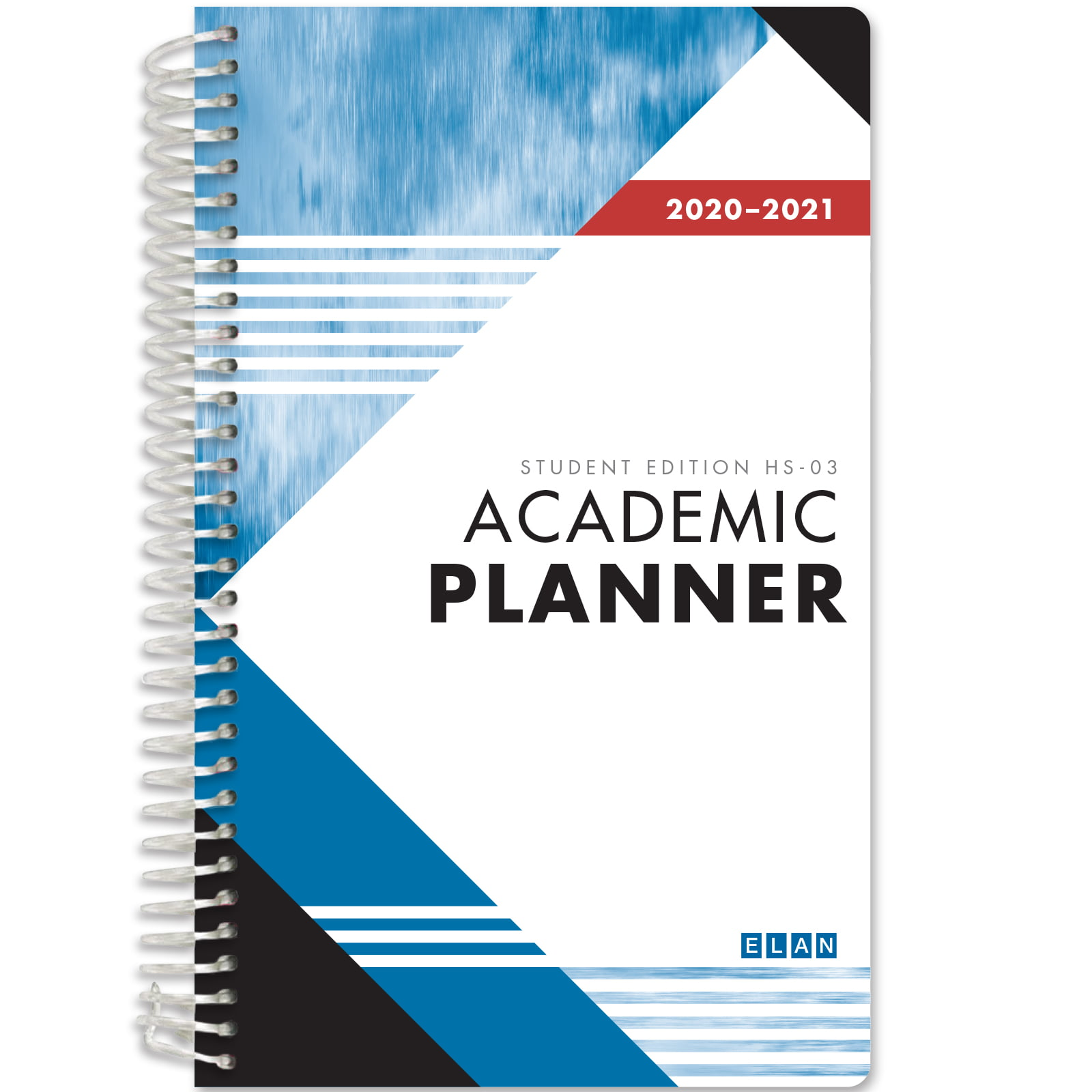 2020-2021 Student Planner for High School of College (Blue ...