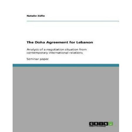 The Doha Agreement For Lebanon
