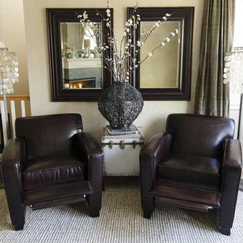 Reclining Club Chair - Set of 2