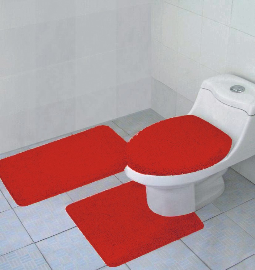 Bathroom Rug Set Bath Mat Contour