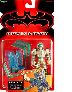 & Robin Frostbite Action Figure By Batman by