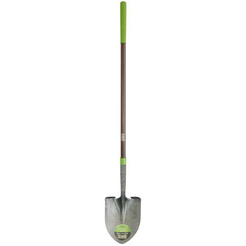 "Ames 25332100 4.8"" X 8.75"" X 61"" Fiberglass Handle Round Point Shovel"