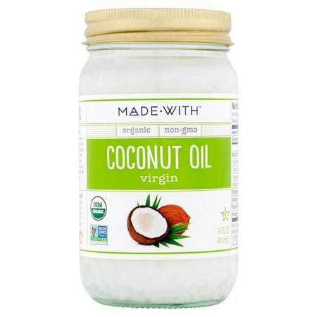 Made With Oil Coconut Virgin Org,14 Fo (Pack Of 6)