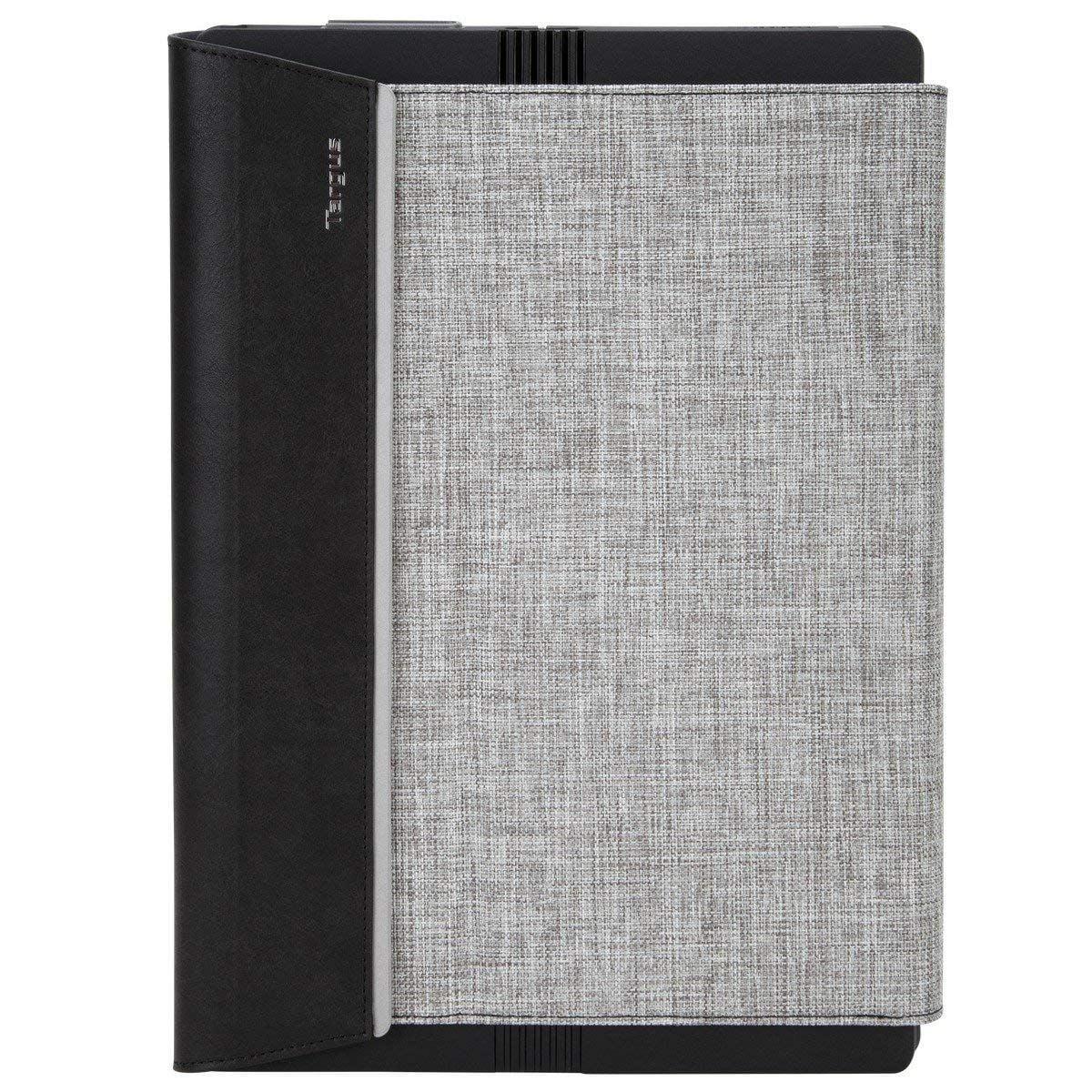 Targus Signature Folio Wrap + Stand Case for Microsoft Surface Pro 4 - Gray (Refurbished)