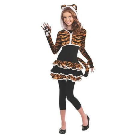 Halloween Tigress Teen Costume