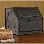Antique Replica of Tin Bread Box/desk Storage