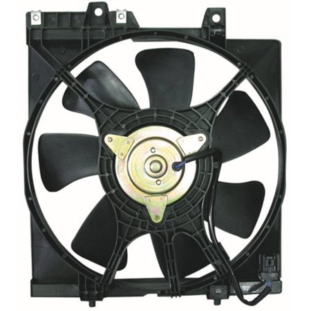 Go-Parts OE Replacement for 1999 - 2000 Subaru Forester A/C Condenser Fan Performance SU3113102 Replacement For Subaru Forester (Subaru Performance Parts)