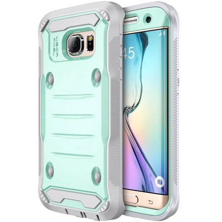 Galaxy S7 Edge Case, E LV Samsung Galaxy S7 Edge Hybrid Armor Protection Defender (