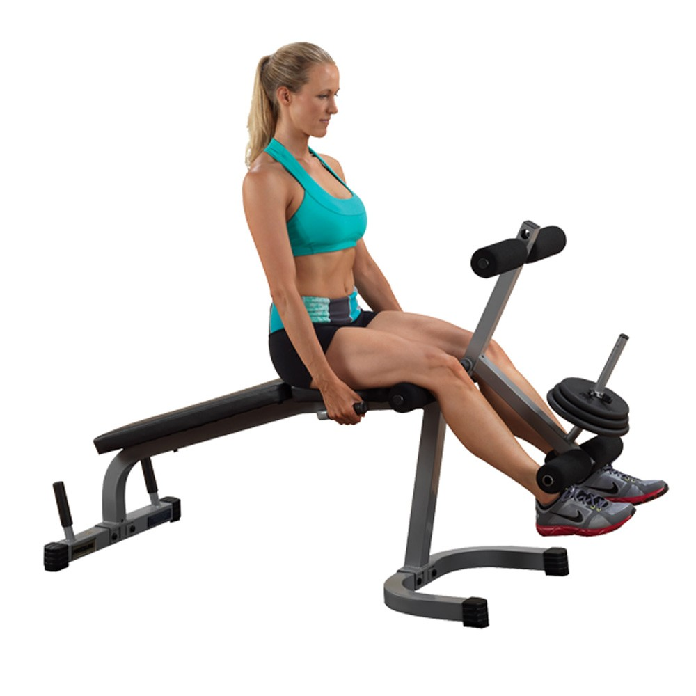 Body Solid PowerLine Leg Extension/Curl Machine