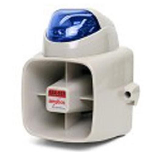 Amseco Potter SSX52SB 2-Tn Siren 120Db W/Blu Strobe