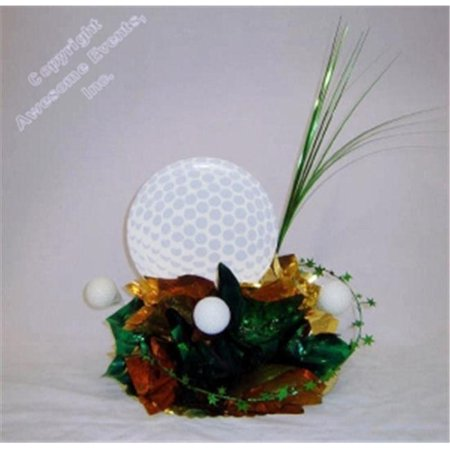 Awesome Events GLF10E Golf Have A Ball Centerpiece, 2 Pack - Golf Centerpieces Ideas