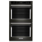 "Best Double Wall Ovens - KitchenAid KODE507EBS 27"" Double Wall Oven- Refurbished Review"