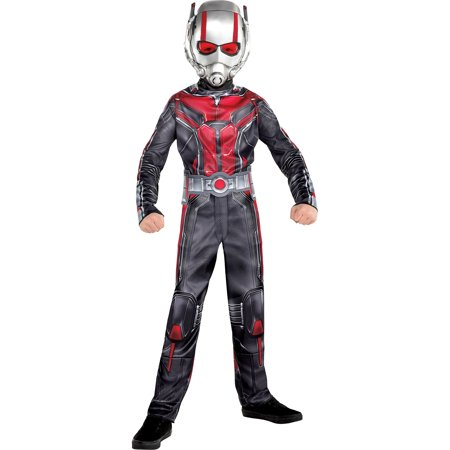 Costumes USA Ant-Man and the Wasp Ant-Man Costume for Boys, Includes a Black and Red Jumpsuit and a Mask](Black And Red Costumes)