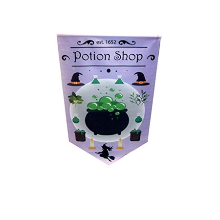 Halloween Decorative Banners Potion Shop