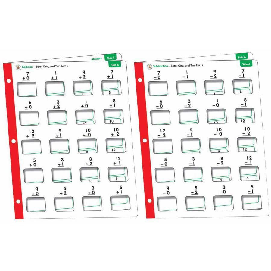 Carson-Dellosa Math Windows Addition and Subtraction, Grades 1 to 6