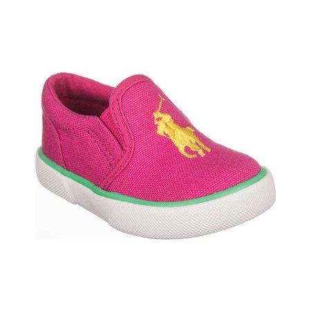 Girls' Polo Ralph Lauren Bal Harbour III Slip On Sneaker - Little Kid