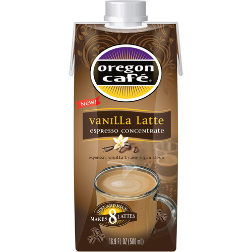 Oregon Cafe Vanilla Latte Espresso Concentrate, 16.9 fl oz