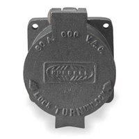 HUBBELLOCK Locking Receptacle,Industrial,60 HBL26410