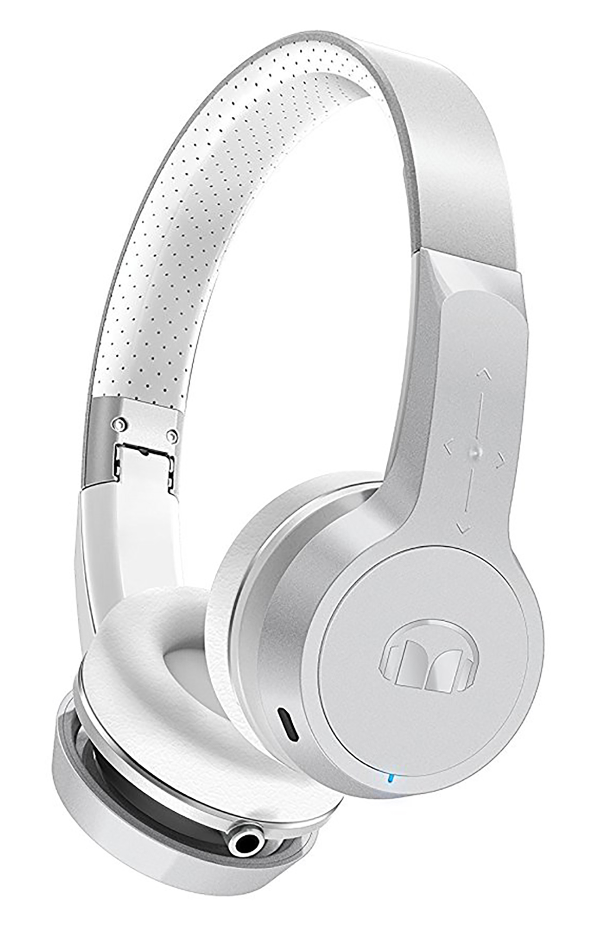 Monster Clarity BT Designer Series High Definition Wireless Bluetooth Headphones Silver by Monster