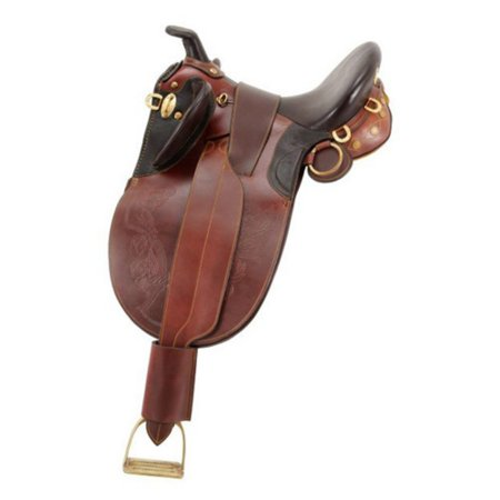 Australian Outrider Collection Stock Poley Saddle with (Australias Original Handcrafted Stock Saddle Snowy River)