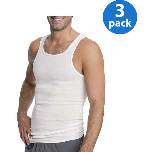Hanes - Men's A-Shirts, 3-Pack