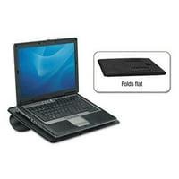 Fellowes Laptop Riser, Non-Skid, 15 x10 3/4 x 5/16, Black
