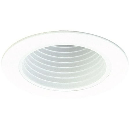 (Elco Lighting Deep Phenolic Baffle 4'' Recessed Trim)