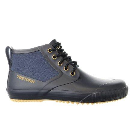 Men's Lace Up Rain Shoes Waterproof Rain Boots