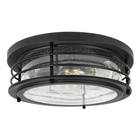 sylvania andover antique drum light led flush mount dimmable