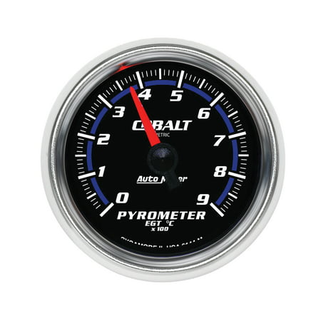 AutoMeter 6144-M Cobalt Electric Pyrometer Gauge Kit ()