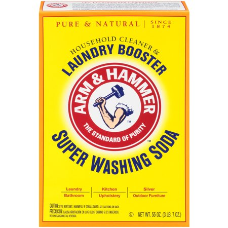 Arm & Hammer Super Washing Soda Detergent Booster & Household Cleaner,