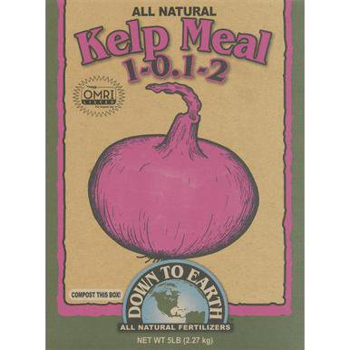 Down To Earth Kelp Meal   5 Lb